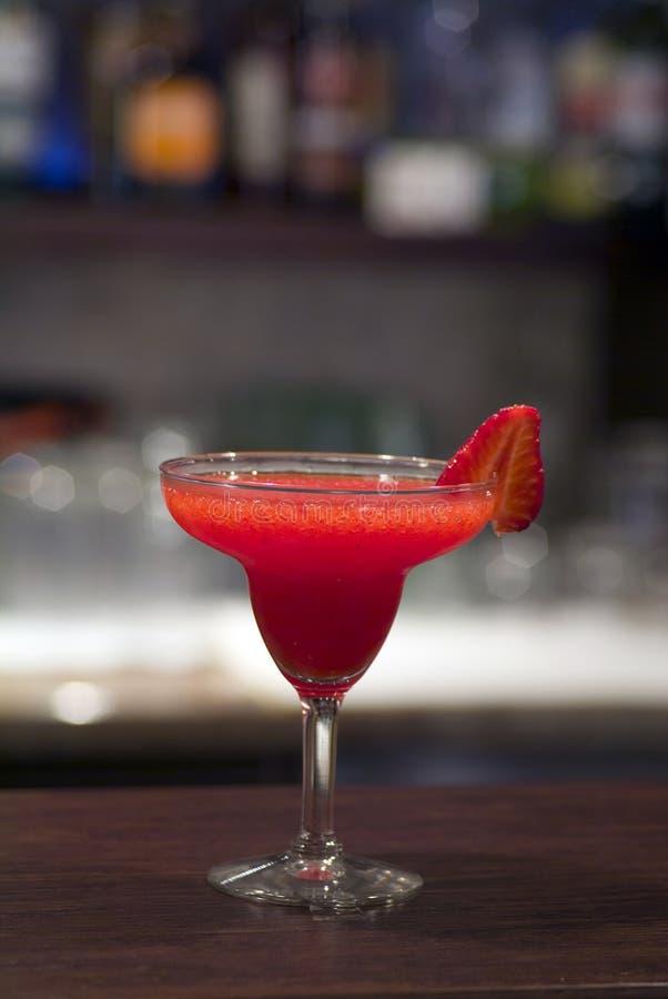 Erdbeere Fizz lizenzfreies stockbild