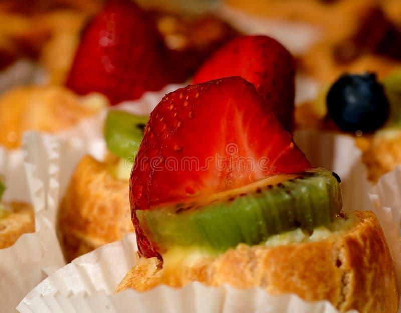 Erdbeere-Nachtisch stockfotografie