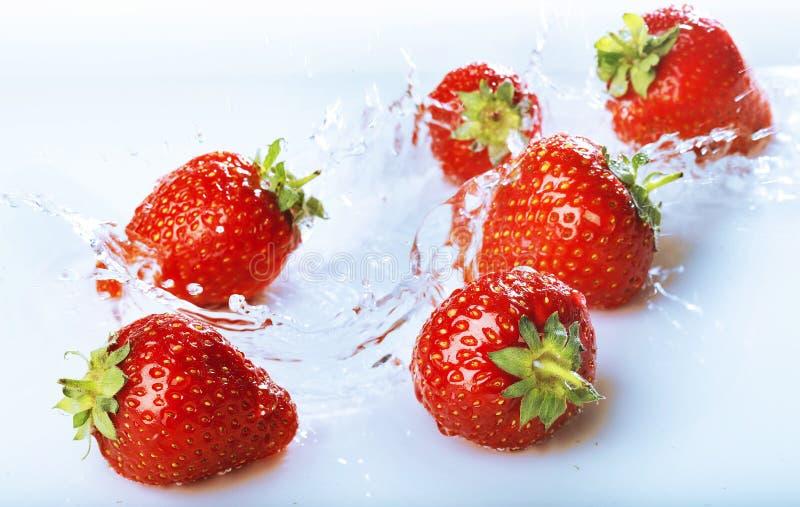 Erdbeeren stockfotos