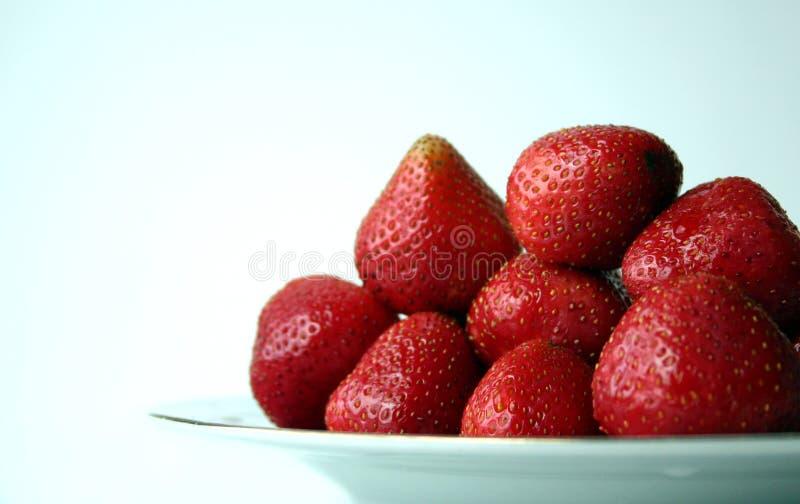 Erdbeeren V lizenzfreies stockfoto