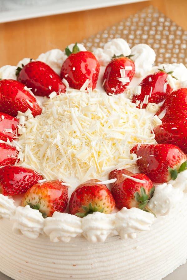 Erdbeereshortcake lizenzfreies stockbild