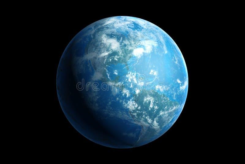 Erde, Amerika lizenzfreie abbildung