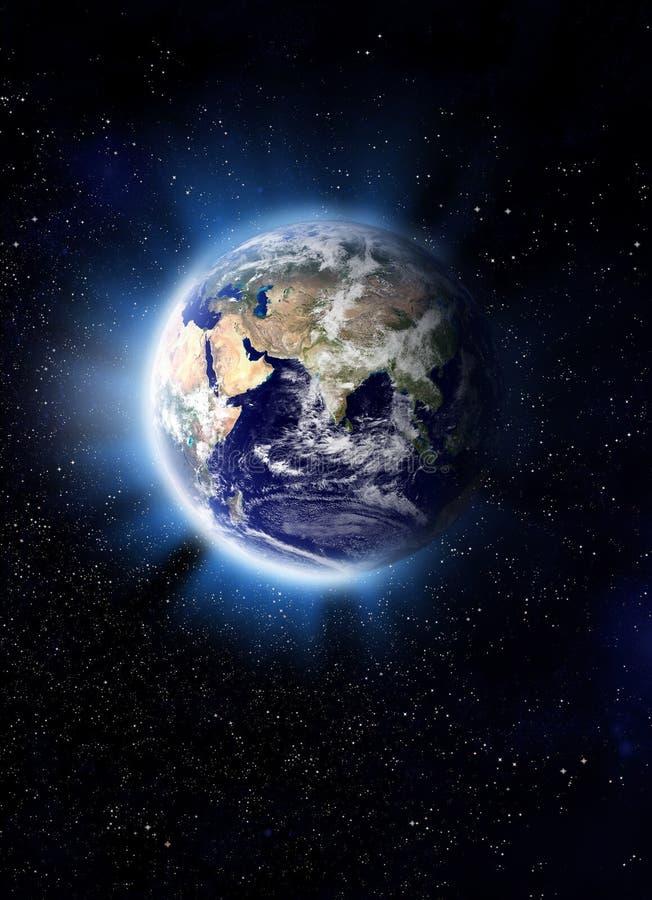 Erde-Kugel stockbild