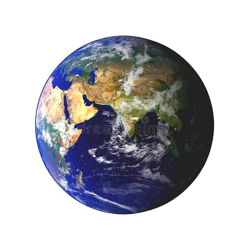 Erde-Kugel vektor abbildung