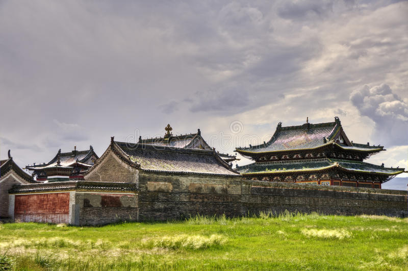 Erdene Zuu Monastery, Kharkhorin, Mongolia stock images