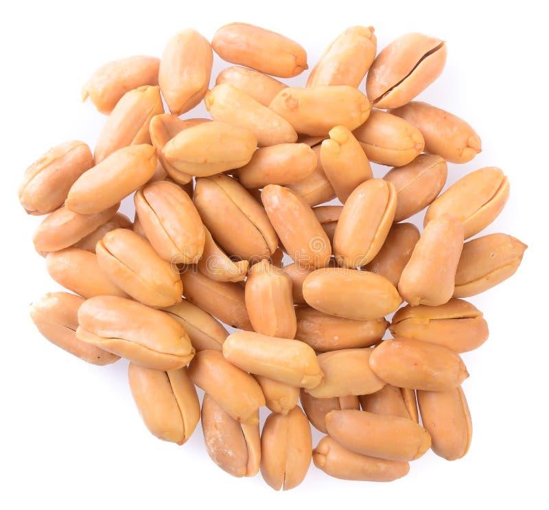 Erdnüsse Verarbeitete Erdnüsse auf dem Hintergrund stockfoto