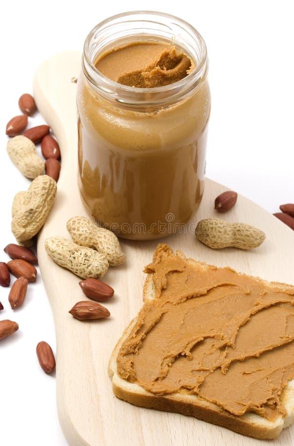 Erdnussbutter lizenzfreies stockfoto