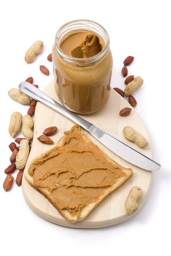 Erdnussbutter lizenzfreie stockfotografie