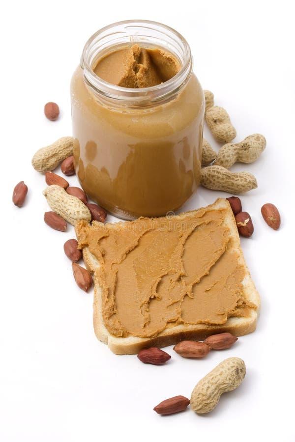 Erdnussbutter lizenzfreie stockbilder