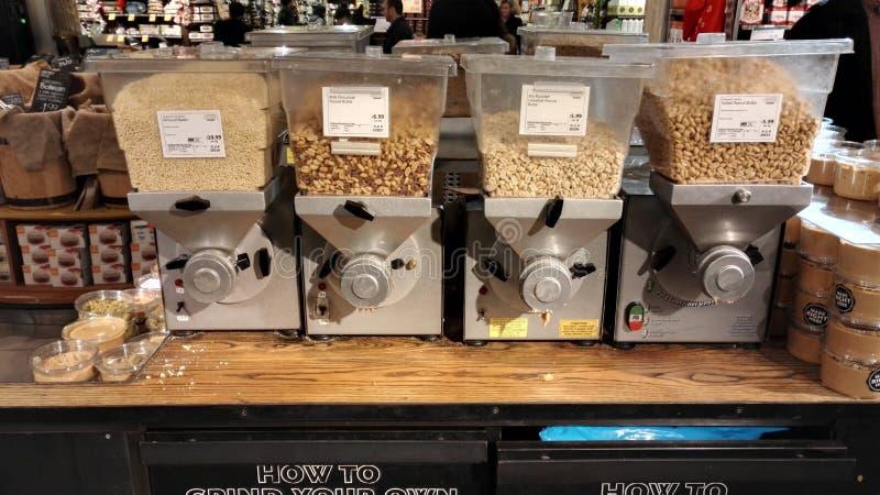Erdnussbutternmaschine lizenzfreies stockbild