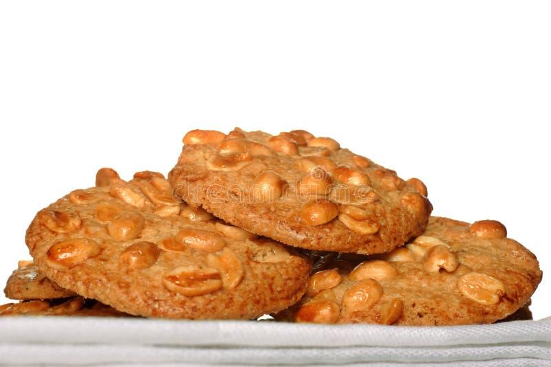 Erdnussplätzchen lizenzfreie stockfotografie