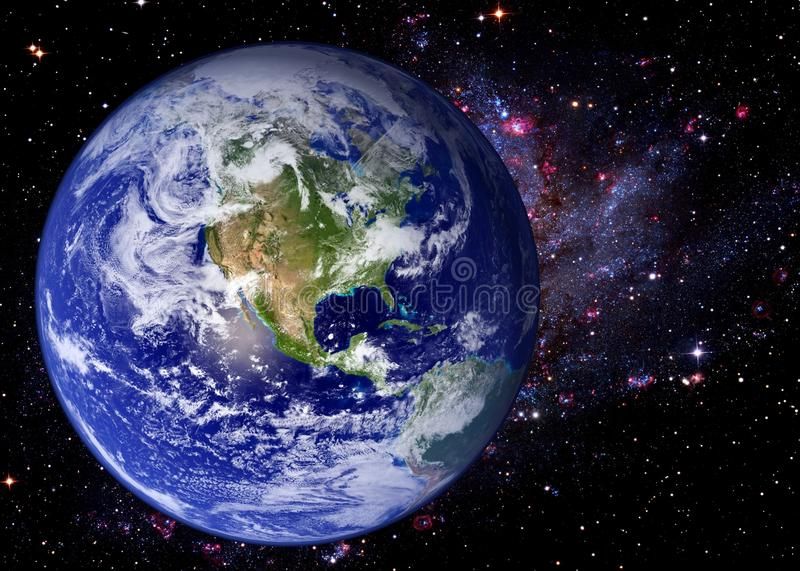 Erdraum-Universum-Galaxie lizenzfreie stockfotografie