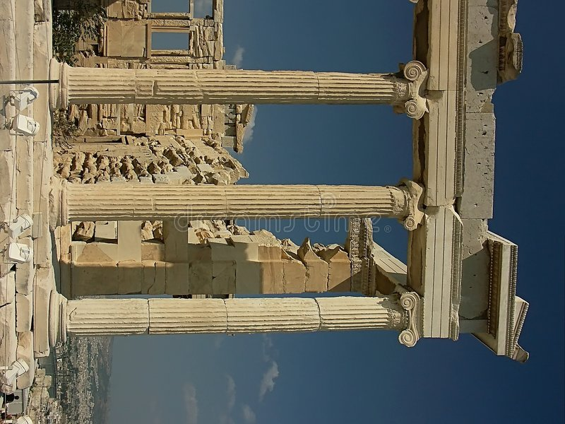 Download Erechteion Temple stock photo. Image of holidays, ancient - 100444