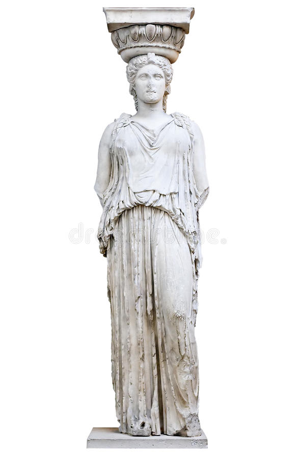 erechtheion ελληνικά καρυατίδων στοκ φωτογραφίες με δικαίωμα ελεύθερης χρήσης