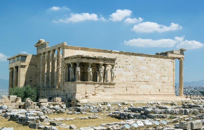 Erechtheion, Ateny obrazy stock