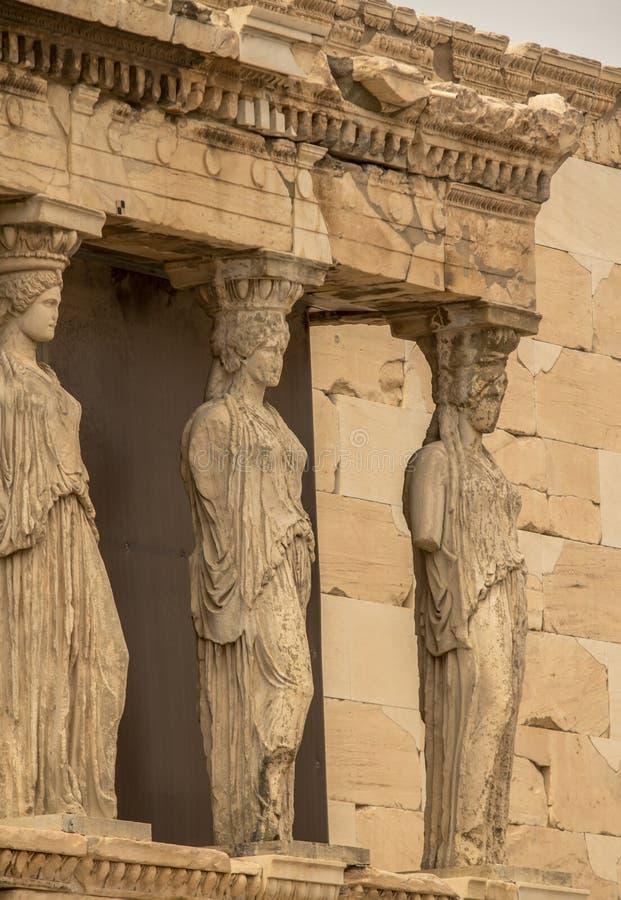 Erechtheion, Ateny, Grecja obrazy stock