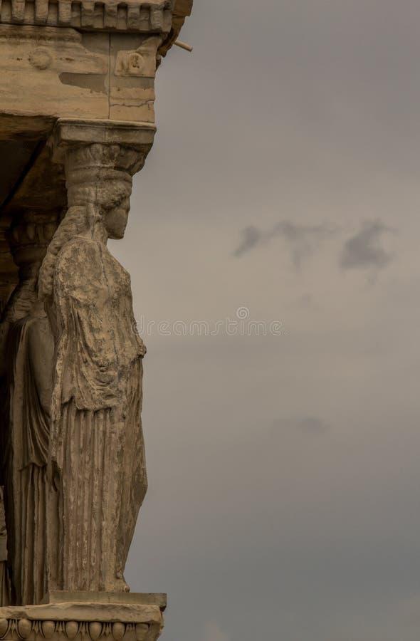 Erechtheion, Ateny, Grecja zdjęcie stock
