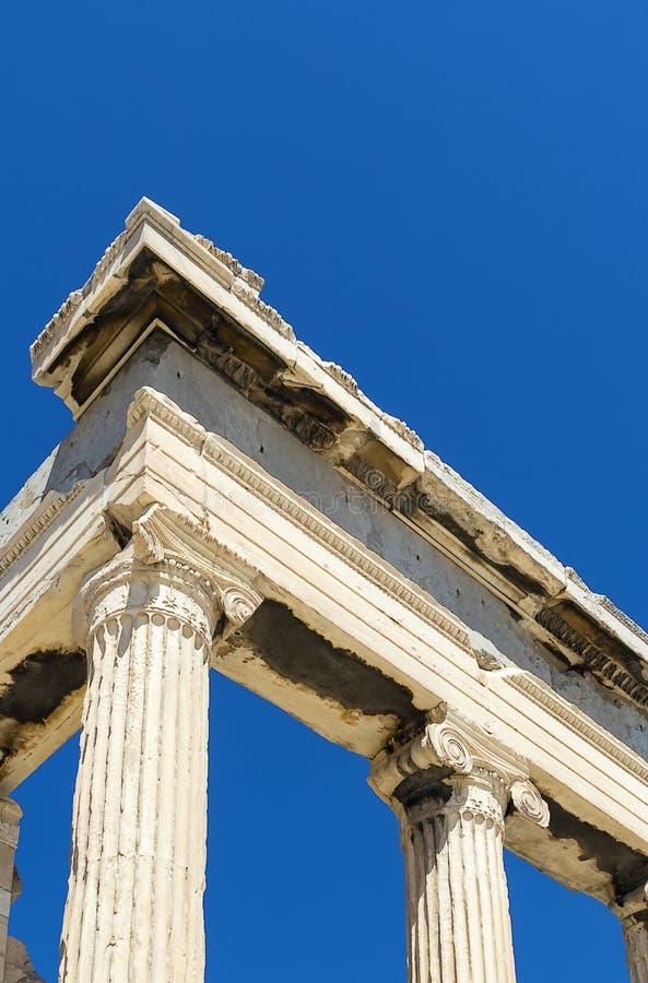 Erechtheion, Athènes photos stock