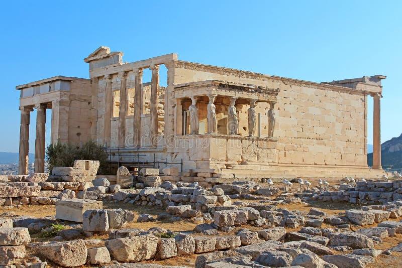 Erechtheum, Ateny obrazy royalty free