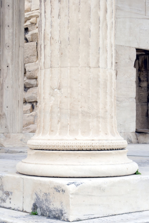 Free Erechtheum Column Royalty Free Stock Images - 4273129