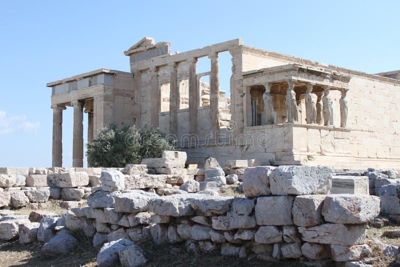 Download Erechtion Dans L'Acropole - Athènes - Grèce Image stock - Image du restes, héritage: 76082389