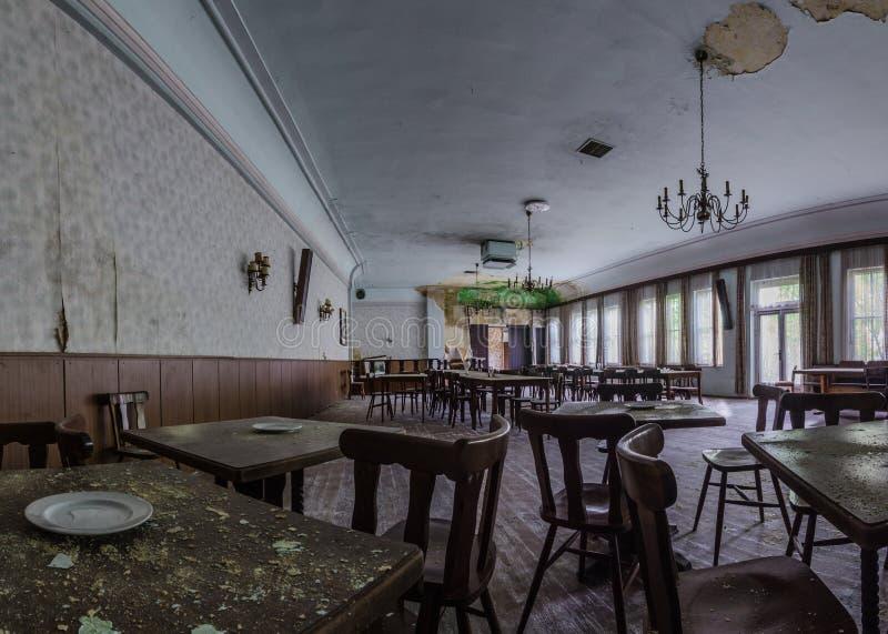 Ereignisraum in einem alten Gasthaus lizenzfreie stockfotos
