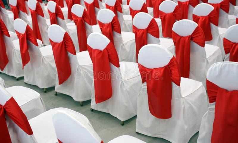 Ereignisstühle Stockbild