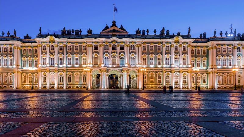 Erem na pałac kwadracie, St Petersburg fotografia stock
