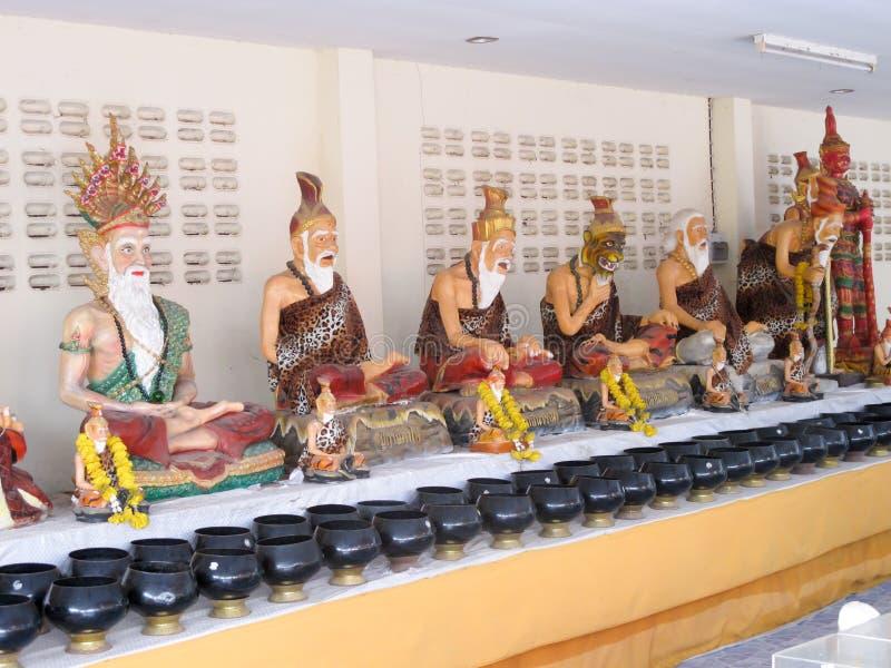 Eremita tailandês dentro fotos de stock royalty free