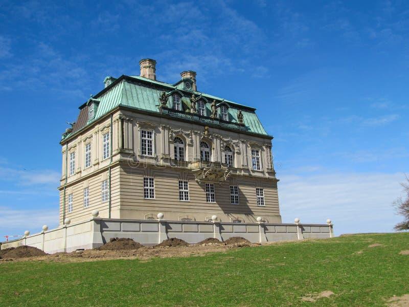 Eremitage-Schloss lizenzfreie stockfotos