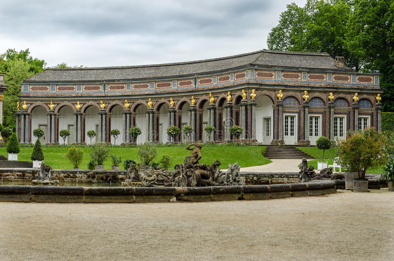 Eremitage w Bayreuth obraz royalty free