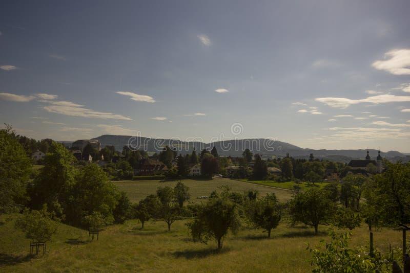 Eremitboning i Arlesheim (Baseln) arkivbilder