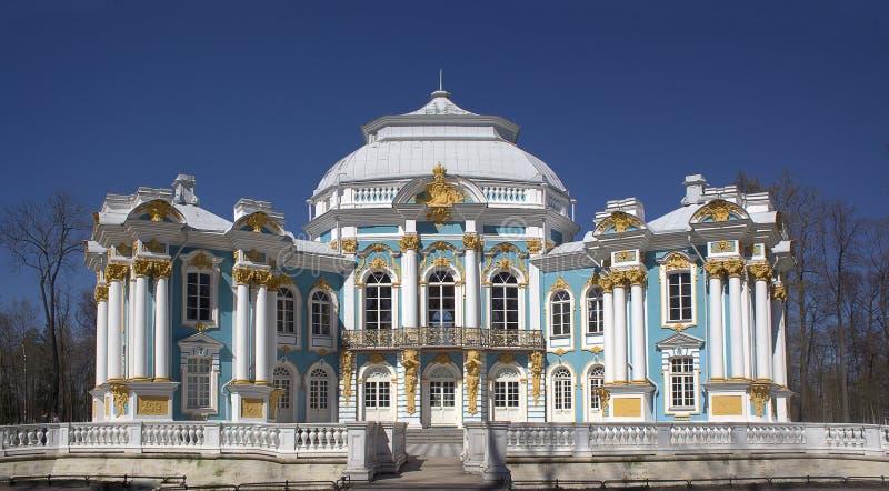 Eremitboning i Tsarskoye Selo nära St Petersburg royaltyfri bild