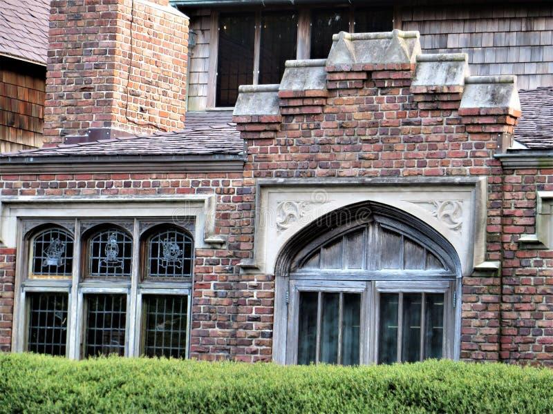 Eremitboningmuseum & trädgårdar, Norfolk, Virginia royaltyfria foton