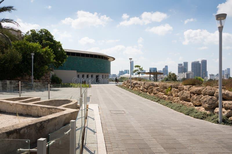 从Eretz以色列博物馆的特拉维夫视图 图库摄影