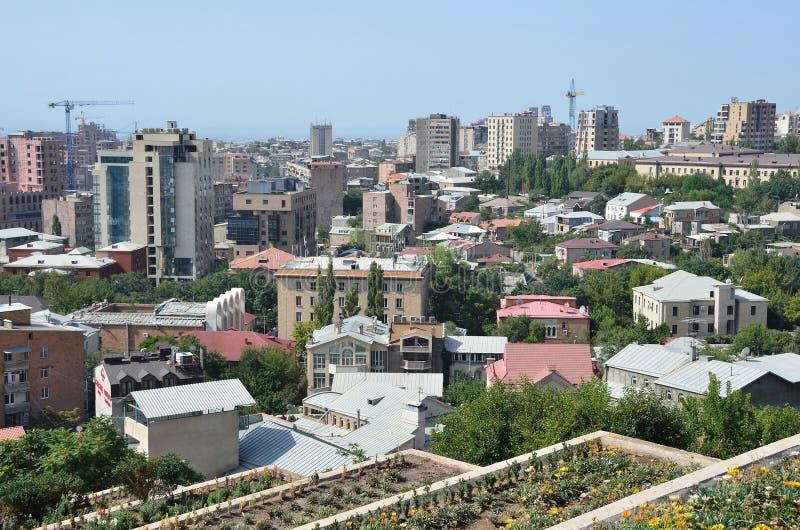 Erevan, Армения, 6-ое сентября 2014, никто, город Erevan стоковая фотография rf