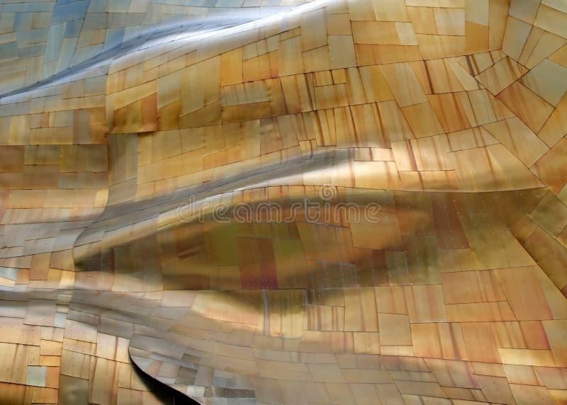 Erfarenhetsmusikprojekt (EMP) i Seattle arkivbilder