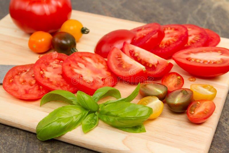 Erfenis tomatoe stock afbeelding