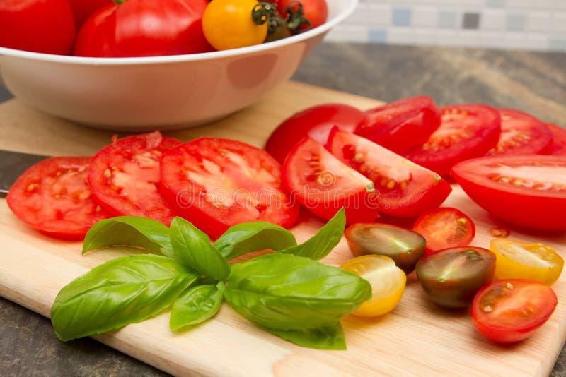 Erfenis tomatoe stock foto