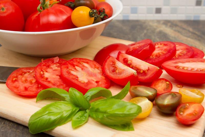 Erfenis tomatoe stock afbeeldingen
