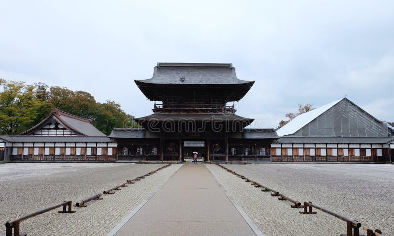 Erfenisarchitectuur van Zuiryuji-tempel in Takaoka royalty-vrije stock afbeelding
