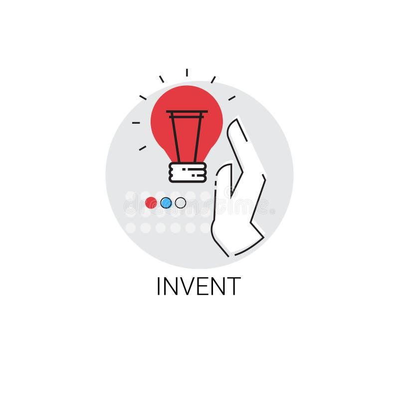 Erfinden Sie neue Ideen-Inspirations-kreative Prozessgeschäfts-Ikone stock abbildung