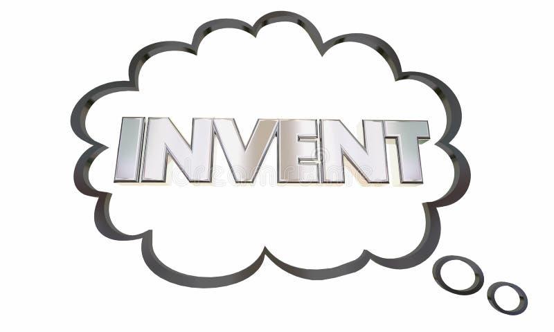Erfinden Sie neues Produkt-Ideen-Geschäfts-Innovation vektor abbildung