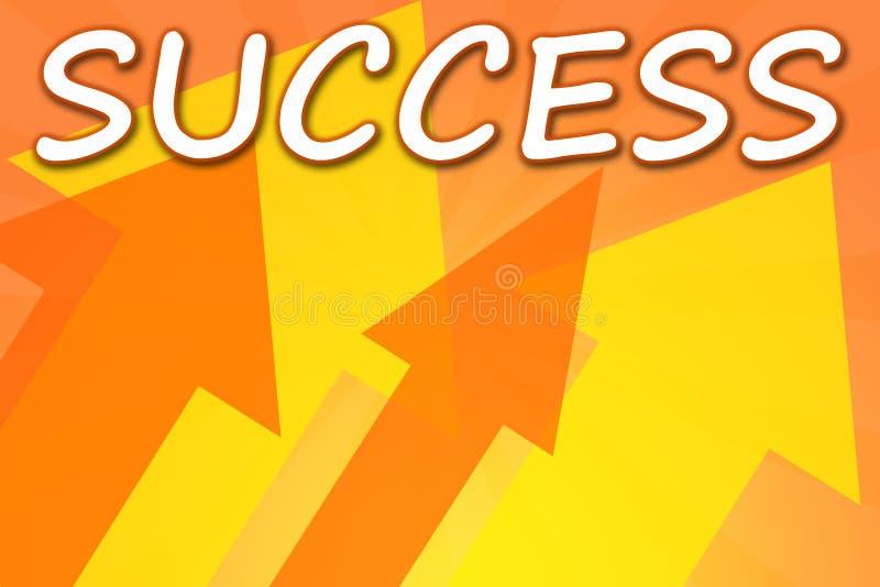 Erfolg stock abbildung