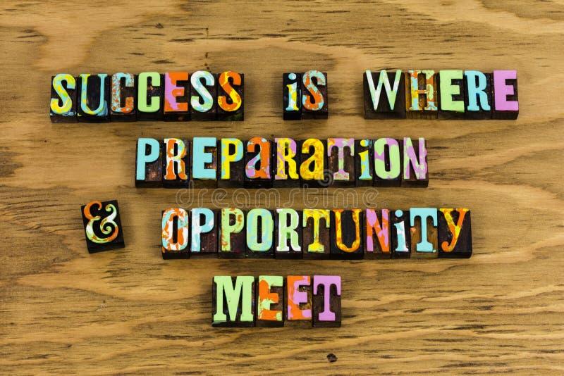 Erfolg bereiten Gelegenheitsausbildungsherausforderung vor lizenzfreie stockfotos
