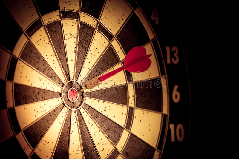 Erfolg, der Zielziel-Zielleistung schlägt lizenzfreie stockfotos