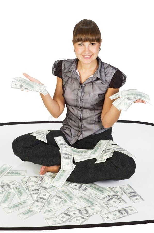 Erfolgreiche Geschäftsfrau lizenzfreie stockbilder