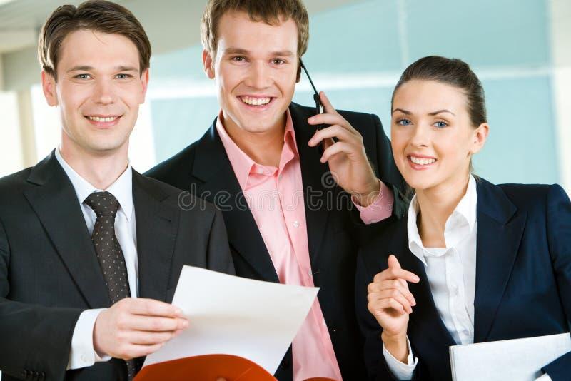 Erfolgreiche Leute stockfoto