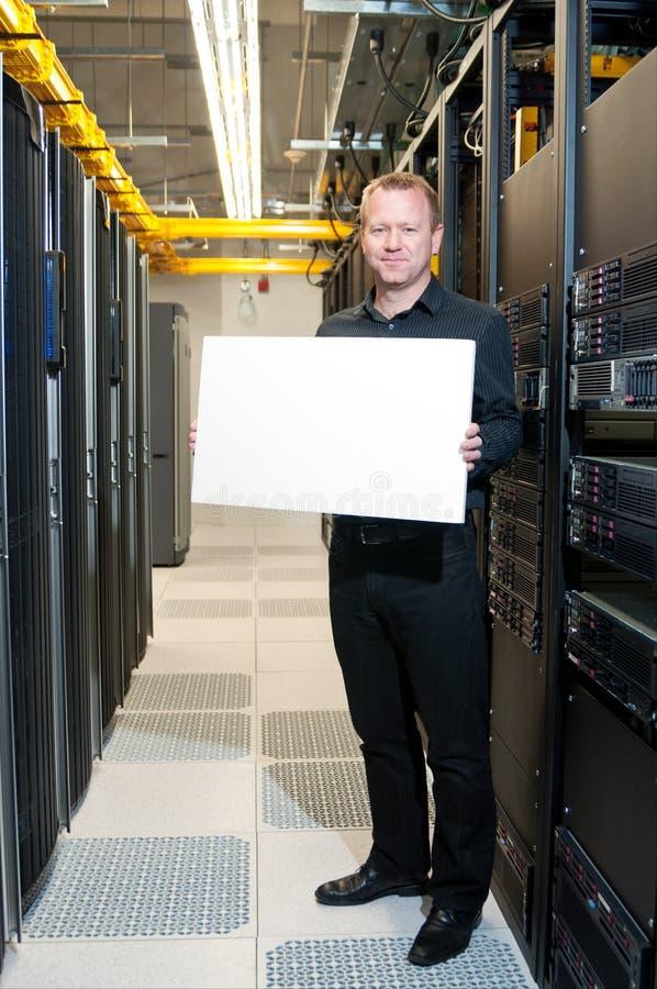 Erfolgreiche Serversystemumstellung lizenzfreies stockfoto