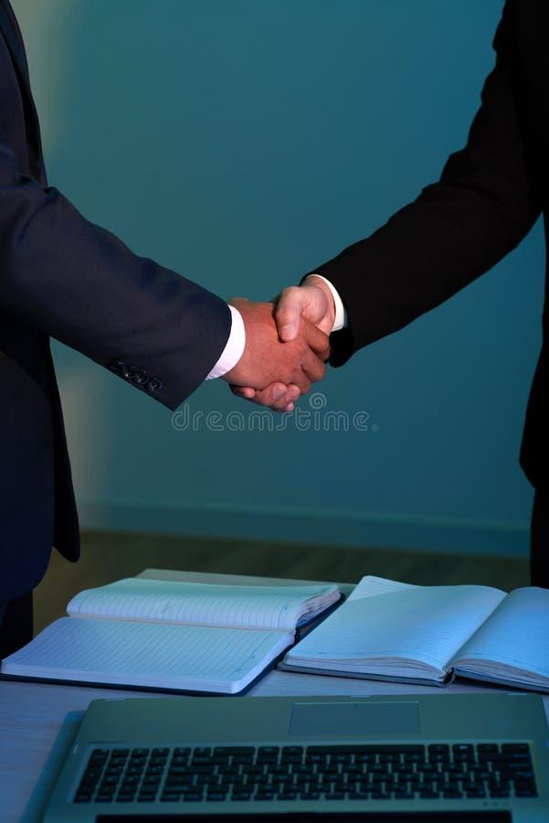 Erfolgreiche Sitzung stockbilder